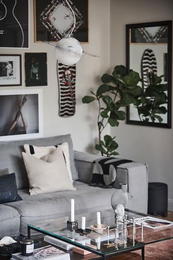 Стильная и уютная квартира в серо-бежевой гамме в Швеции (76 кв. м)