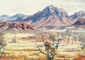 Австралийский художник - абориген Альберт Наматжира