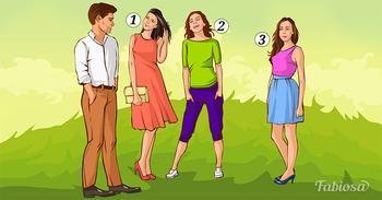 Задачка на логику: в какую из трех девушек влюблен парень?
