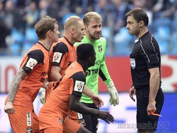 Хет-трик судьи. «Зенит» победил «Урал» в самом скандальном матче сезона