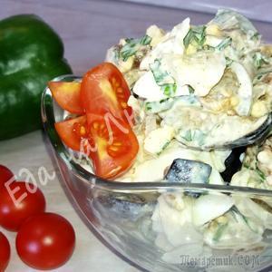 Салат из жареных Баклажанов – невозможно оторваться!