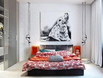 Удачные примеры использования белого кирпича в интерьере