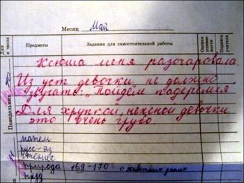 Подборка забавных записей в дневниках озорных школьников