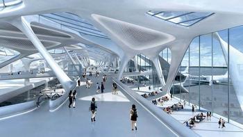 Как изменятся аэропорты к 2035 году? Не страшно ли будет жить с новой технологией?