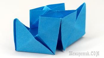 Как сделать кораблик из бумаги. Пошаговая инструкция оригами