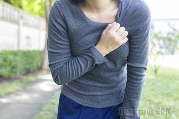 Боли под грудью: причины, диагностика и лечение