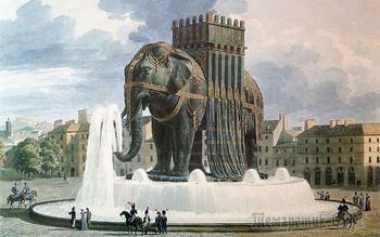 Куда исчез гигантский слон Бастилии, cозданный по приказу Наполеона