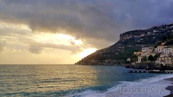 Италия в конце января. 01. Амальфийское побережье