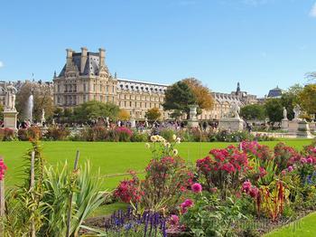 Франция - прекрасная лилия в букете европейских государств. Часть 5. Сады и парки Парижа