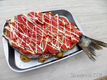 Рыба по-казахски - настоящее объеденье! Коктал Есть Же!