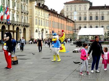 От Португалии до Болгарии. Турин - альпийская столица Италии.