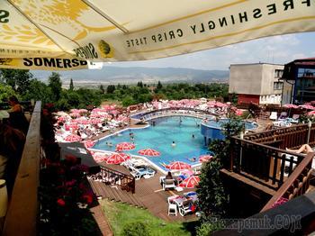СПА курорты Болгарии 8. Сапарева Баня - самый горячий гейзер в Европе