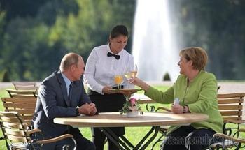 Путин и Меркель оценили судьбу Украины после запуска «Северного потока-2»