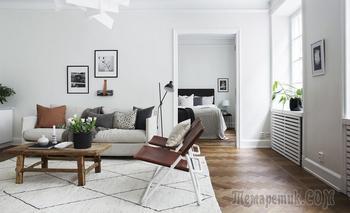 Стильная двушка 62 м² в Швеции