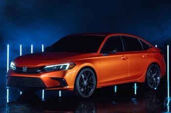 Honda Civic 2022: седан с улучшенным дизайном и высоким эксплуатационным потенциалом