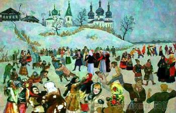 Как богатые люди на Руси крестьян развлекали и какие праздники для них устраивали