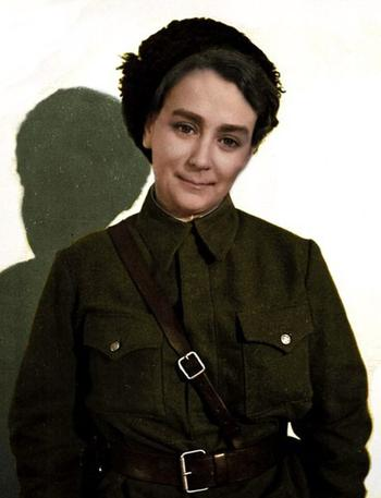 С «Лейкой» через всю войну: корреспондент Наталья Боде
