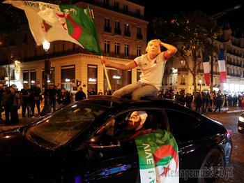 Франция в огне: как Алжир праздновал победу в Кубке Африки