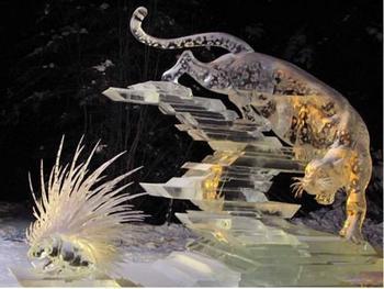 Восхитительные ледяные скульптуры