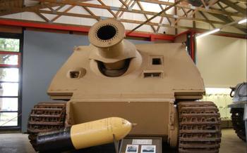 С какой целью немецкую САУ оборудовали таким до неприличия коротким стволом