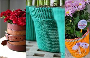 Идеи, которые преобразят цветочные горшки до неузнаваемости
