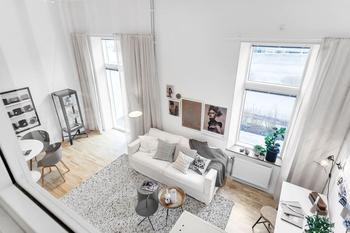 Еще один очень компактный дом в Швеции (48 кв. м)