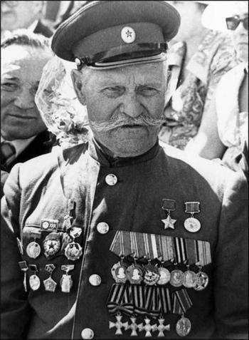 К. Недорубов - Герой Советского Союза и полный Георгиевский кавалер