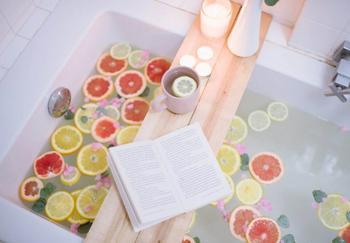 Столик-полка для ванны своими руками