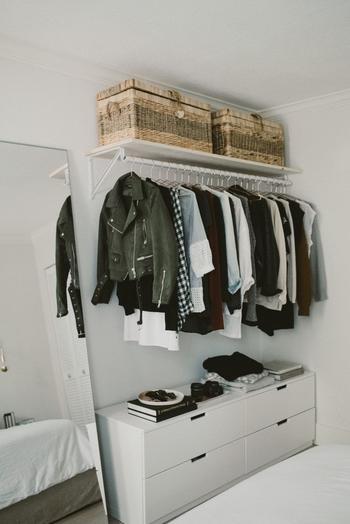 25 способов сделать в маленькой квартире гардеробную