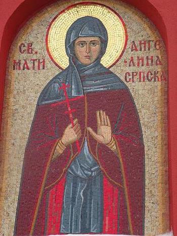 Преподобная Ангелина Сербская (Бранкович)