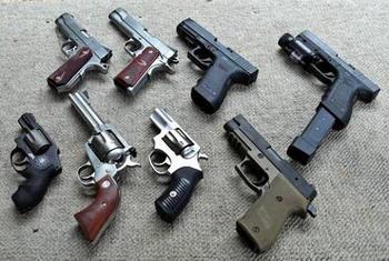 Лучшие американские пистолеты: технические характеристики и фото