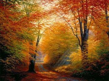 «Осень… нежности тихой улыбка…» Художник Уайт Чарльз Генри