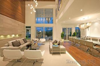 Интерьер частной резиденции в Майами