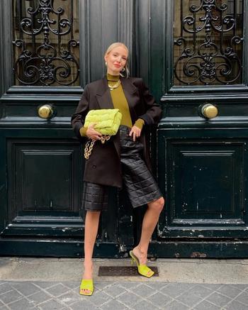 Модное сочетание цветов одежды 2021