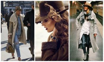 Шляпа с широкими полями в гардеробе: правила сочетания