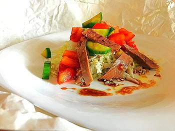 Бюджетный и вкусный салат, после праздников