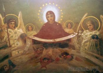 Покров Пресвятой Богородицы в живописи и иконах