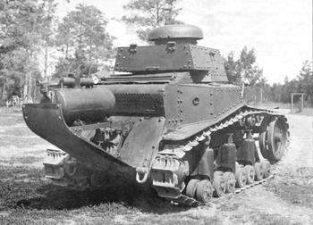 Советские химические танки с дымовым прибором ТДП-3
