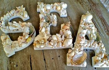 Идеи домашнего декора морскими ракушками