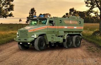 Тайфун-У, Чаборз и другие: новинки российской военной техники с Парада Победы