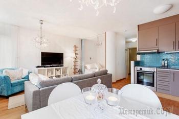 Оформление маленькой квартиры 38 кв. м.
