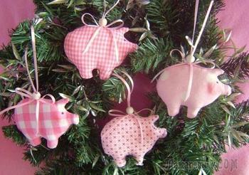 Милые текстильные свинки: выкройки, идеи и мастер-классы