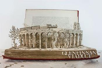 Удивительные трёхмерные скульптуры из старых книг