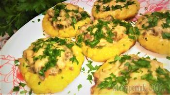 Блюдо из картофеля или что приготовить из остатка картофельного пюре.