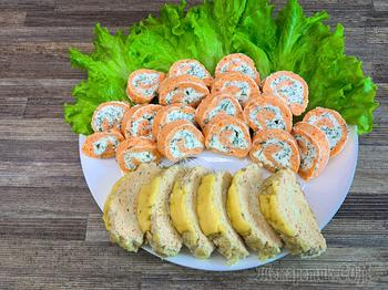 2 Рыбные закуски: холодная и горячая