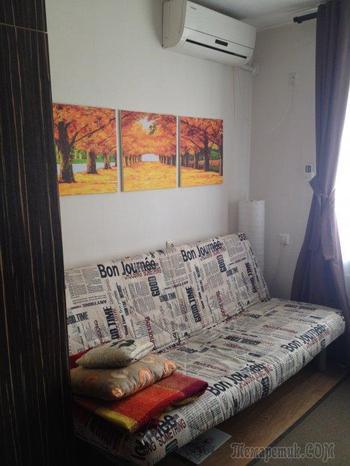 Комната-студия 17 квадратов: личный опыт