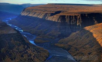 Белые великаны плато Путорана.