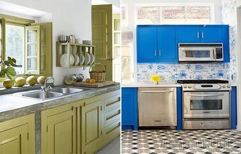 5 смелых идей и цветовых решений по оформлению маленькой кухни, которые не теряют своей актуальности