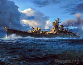 Почему у японцев были такие мощные корабли?
