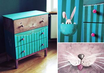 Новая жизнь скучной мебели